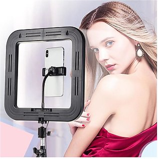 Square Photography Light 72 LED 15W Dimmable USB Selfie Light