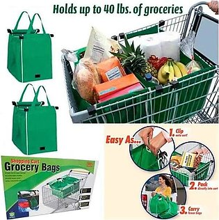 Pack of 2 Clip to Cart Shopping Bags (2002)