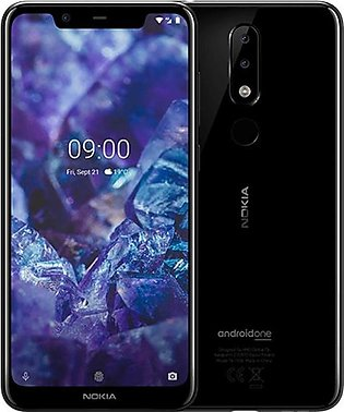 Nokia 5.1 Plus - 5.8 Inches Display - 3Gb Ram - 32Gb Rom - Android One