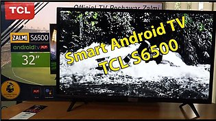 TCL LED TV S6500 32 inch Android(karachi only)