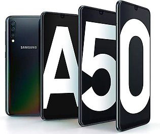 "Samsung Galaxy A50 - Display 6.4"" - Camera 16+5MP Front 25MP - RAM 4GB - ROM 12…"