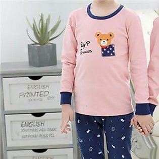 Baby and Baba Print Night Suit