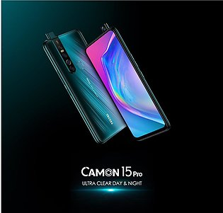 Tecno Camon 15 Pro - 6GB RAM - 128GB ROM - 48MP Quad Camera
