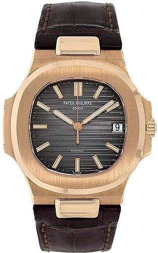 Patek Philippe Nautilus Tiffany & Co. Rose Gold Watch 63566