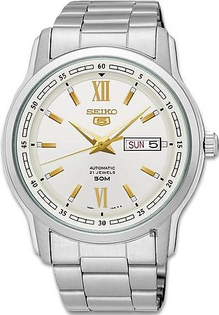 japan made Seiko 5 automatic men's watch