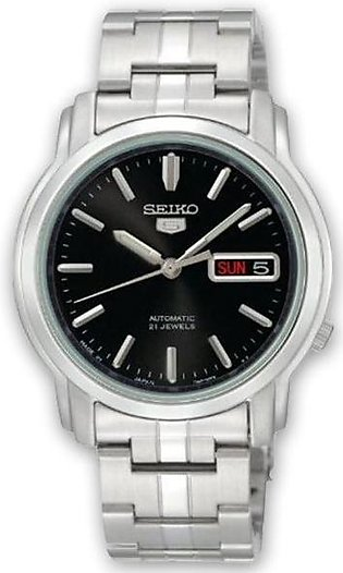 Black dial Seiko 5 made in japan series