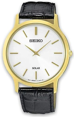 seiko solar men's standard analog wrist watch