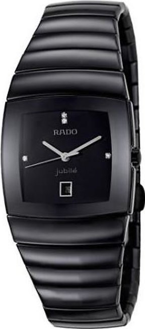 Rado Sintra jubile mens wrist watch in black dial with date