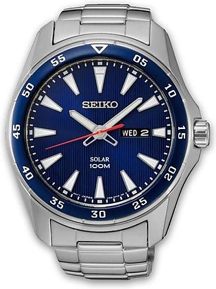 Seiko Solar men's standard analog watch