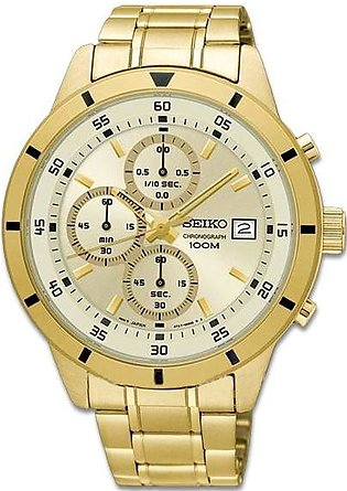 Seiko Chronograph gent's wrist watch quartz