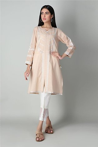 Solid Embroidered Kurta Ready to Wear 2021 Summer Sale by Khaadi