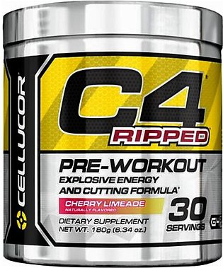 C4 RIPPED (CELLUCOR)PRE-WORKOUT DIETARY SUPPLEMENT ( 30 SERVING )