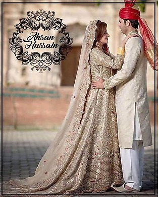 Customized Luxury Bridal Outfit by Ahsan Hussain