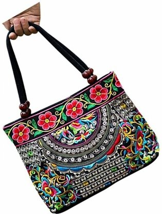Chinese Style Women Handbag Embroidery Ethnic Summer Fashion Handmade