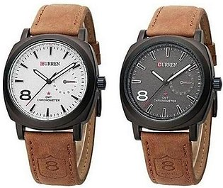 Pack of 2 Curren Watches