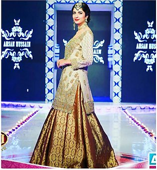 Ahsan Hussain showcase his Luxury Bridals
