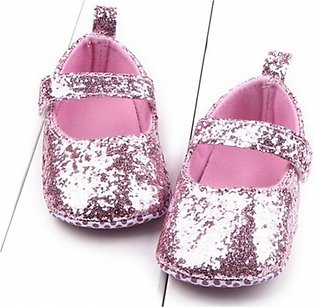 Fashion Trendy Toddler Girl Soft Sole Crib Shoes Sequins Sneaker Baby Shoes