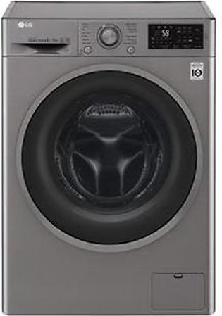 LG 8 KG Front Load Washing Machine F4J6TMP8S (Imported)