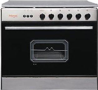 Corona 5 Burners Glass Top Cooking Range C-351