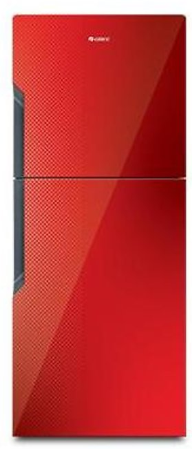 Gree 18 CFT Top Mount Refrigerator E9978G-CR1 Texture Red