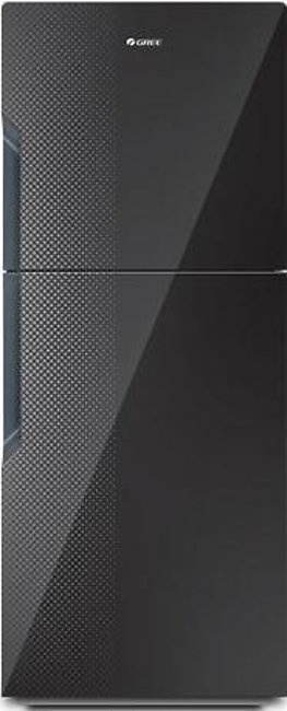 Gree 18 CFT Top Mount Refrigerator E9978G-CB3 Digital Black