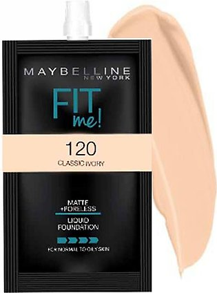 Maybelline NY Fit Me Liquid Foundation 5ml|120 Classic Ivory