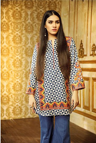 1 Piece Embroidered Khaddar Shirt