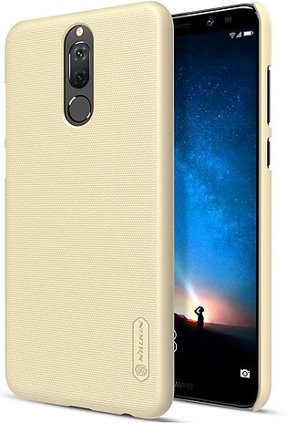 Huawei Mate 10 Lite Frosted Shield Hard Back Cover by Nillkin - Gold