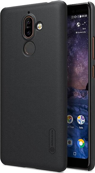 Nokia 7 Plus Frosted Shield Back Cover by Nillkin - Black