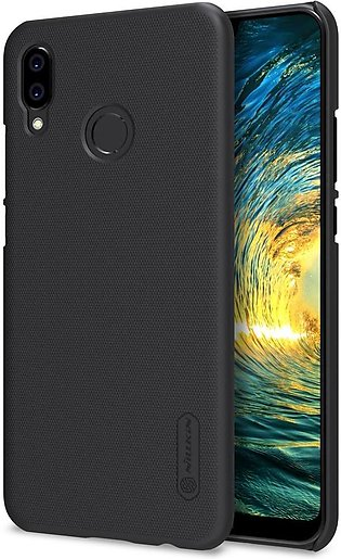 Huawei P20 Lite Frosted Shield Hard Back Cover by Nillkin – Black