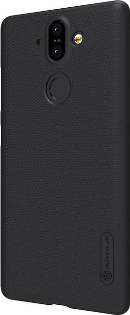Nokia 8 Sirocco Edition Frosted Shield Back Cover by Nillkin - Black