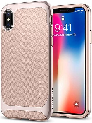 Apple iPhone X Original Spigen Case Neo Hybrid – Pale Dogwood