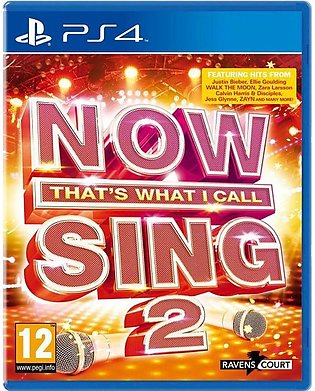 Now That's What I Call Sing 2 For PlayStation 4 - Koch Media