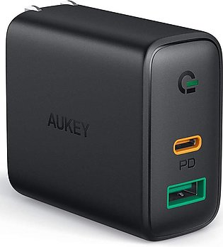 AUKEY USB C Charger 30W, PD Charger with Power Delivery 3.0 & Dynamic Detect – …