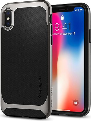 Apple iPhone X Neo Hybrid Original Spigen Case Neo Hybrid – Gunmetal