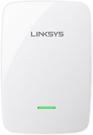 Linksys RE4100W Universal N600 Dual Band Range Extender with AUX Port for Mus...
