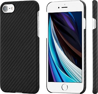 iPhone SE 2020 Aramid MagEZ Case by PITAKA – Black / Grey Twill also for iPho...