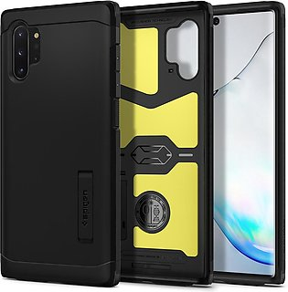 Galaxy Note 10 Plus Case Tough Armor – Black – 627CS27337