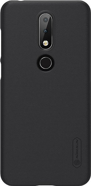 Nokia 6.1 Plus Frosted Shield Hard Cover by Nillkin - Black