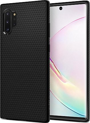 Galaxy Note 10 Plus Case Liquid Air – Matte Black – 627CS27330