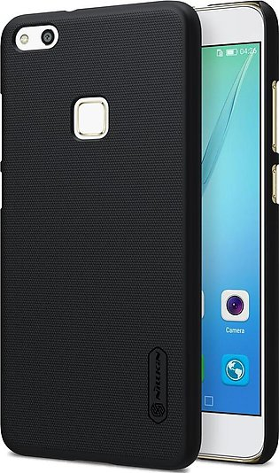 Huawei P10 Lite Frosted Shield Hard Back Cover by Nillkin – Midnight Black.