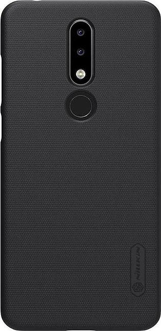 Nokia 5.1 Plus Frosted Shield Hard Cover by Nillkin – Black