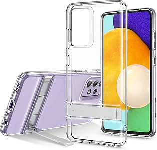 Galaxy A52 Air Shield Boost Back Case with Kickstand – Crystal Clear