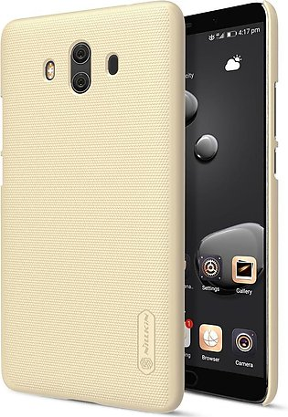 Huawei Mate 10 Frosted Shield Hard Back Cover by Nillkin – Gold