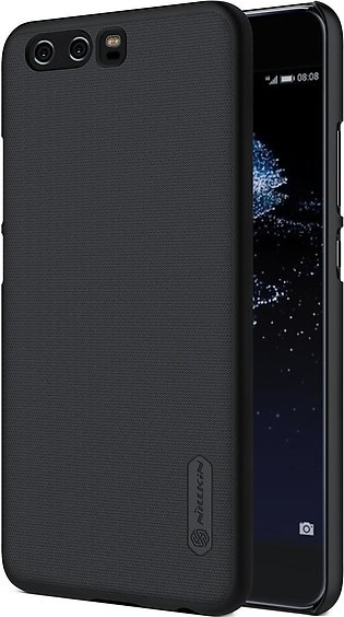 Huawei P10 Frosted Shield Hard Back Cover by Nillkin - Black