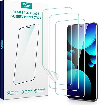 Galaxy S21 Liquid Skin Screen Protector Pack of 3 – Crystal Clear