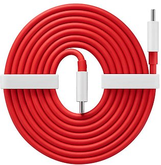 Warp Charging Type C to Type C Cable by OnePlus – 150 cm – 65W Warp Charge Supp…