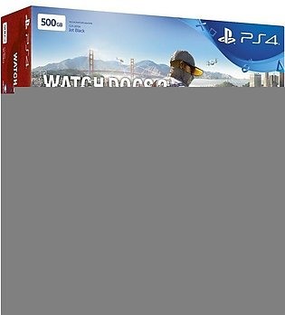 PlayStation 4 Slim Bundle Offer 500GB(HDD) Black & Watch Dogs Collection