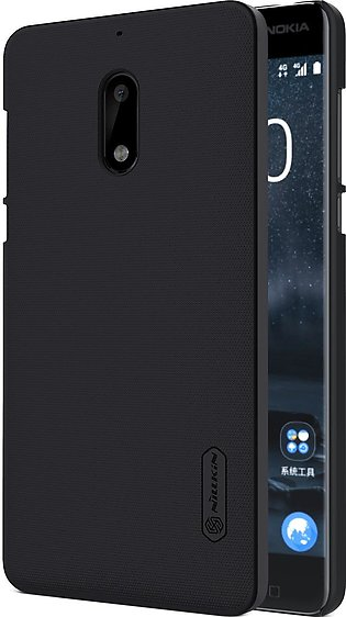 Nillkin Original Frosted Shield Back Cover for Nokia 6 with Free Screen Protect…