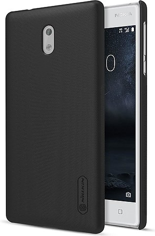 Nillkin Original Frosted Shield Back Cover for Nokia 3 with Free Screen Protect…